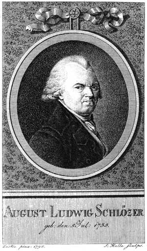 Август Шлёцер